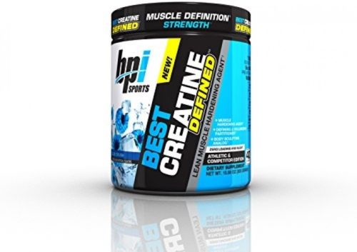 Best Creatine Defined Lean Muscle Hardening Agent Blue Crush 10oz by BPI Sports