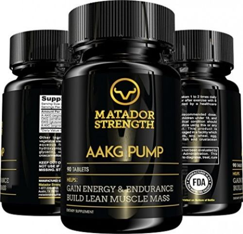 AAKG Pump Amino Acid Arginine Pre Workout Supplement, Increase Nitric Oxide at