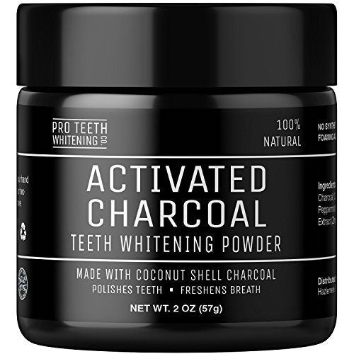 Activated Charcoal Natural Teeth Whitening Powder by Pro Teeth Whitening Co®