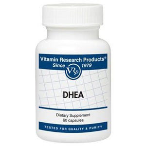 DHEA - 10 mg - 60 capsules by Vitamin Research Products - rejuvem