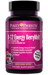 B-12 Energy BerryMelt with Super Fruits by Purity Products - rejuvem  - 1