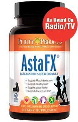 AstaFX Astaxanthin Super Formula - 60 Vegetarian Capsules by Purity Products - rejuvem  - 1