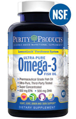 Ultra-Pure Omega-3 Fish Oil with LemonLock™ by Purity Products - rejuvem  - 1
