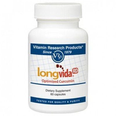Longvida Optimized Curcumin 500mg (60 capsules) by Vitamin Research Products - rejuvem