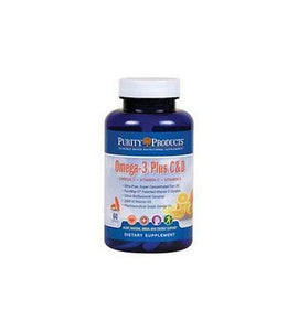 Omega-3 Plus Vitamin C and D by Purity Products - rejuvem