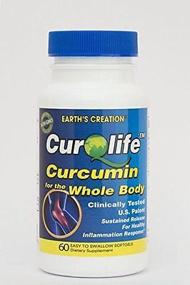 CurQLife - Water Based Curcumin Optimized for Joint Health by Earth's Creation - rejuvem