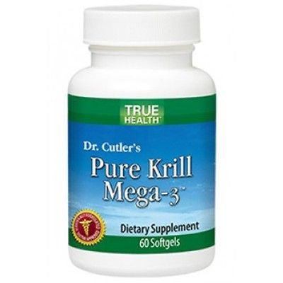 Pure Krill Mega-3 (60 softgels) by True Health - rejuvem  - 1