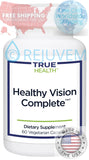 Healthy Vision Complete | With Lutein, Zeaxanthin and Astaxanthin by True Health