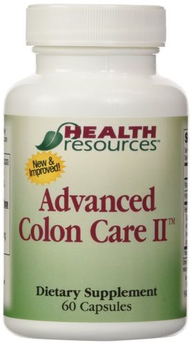 Advanced Colon Care II (60 capsules) by Health Resources