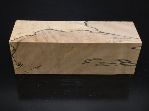 "10""x2"" Spalted Hackberry Wood Platter Turning Blank (#0054)"