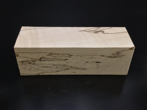 "8""x4"" Spalted Sycamore Wood Bowl Turning Blank (#0082)"