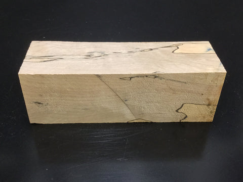 "8""x2"" Spalted Sycamore Wood Platter Turning Blank (#0095)"