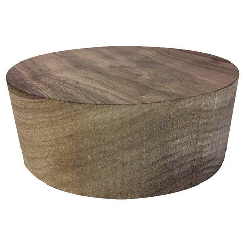 "10""x3"" KD Black Walnut Wood Bowl Turning Blank"