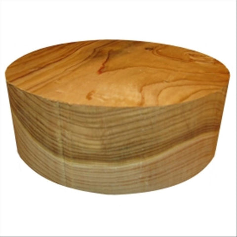"12""x5"" KD Cedar of Lebanon Wood Bowl Turning Blank"