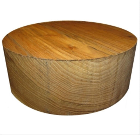 "14""x4"" Chinese Chestnut Wood Bowl Turning Blank"