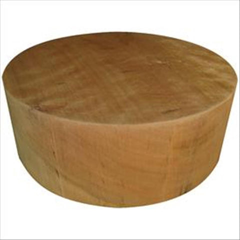 "14""x4"" KD Curly Cherry Wood Bowl Turning Blank"