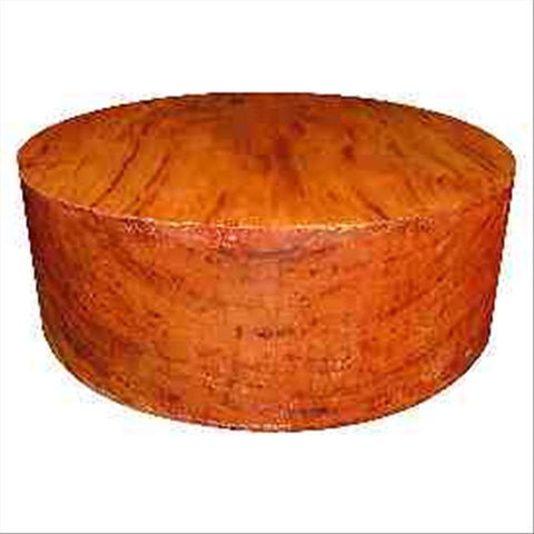 "14""x6"" Gum Streaked Cherry Wood Bowl Turning Blank"