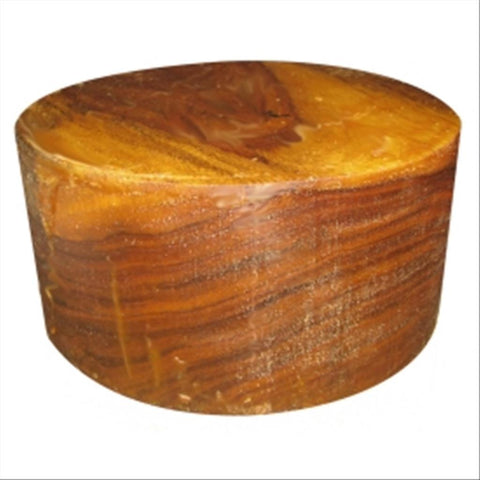 "14""x6"" Indian Rosewood Wood Bowl Turning Blank"