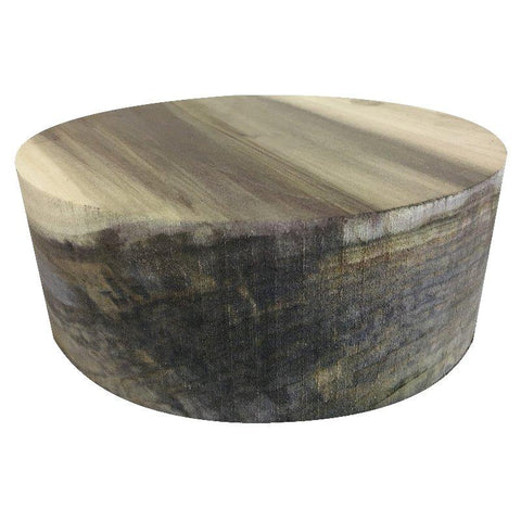 "10""x6"" Rainbow Poplar Wood Bowl Turning Blank"