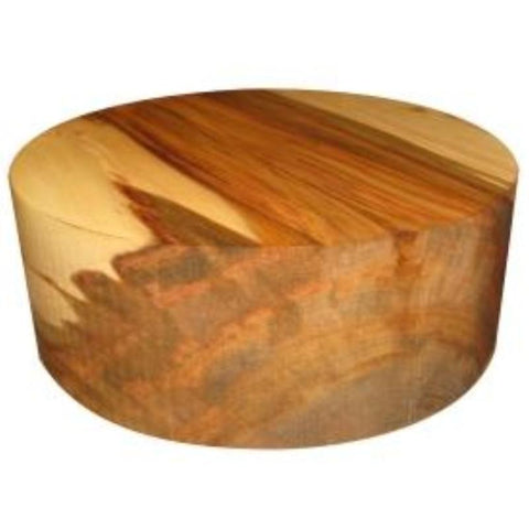 "4""x6"" Red Gum Wood Bowl Turning Blank"
