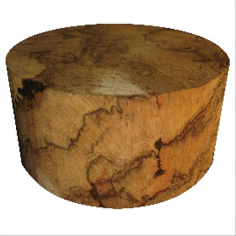 "14""x5"" Red Oak Burl Wood Bowl Turning Blank"