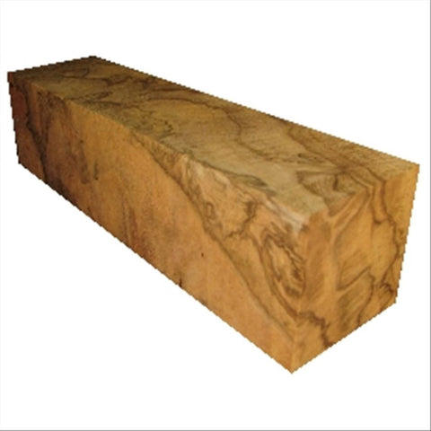 "4""x4""x36"" Red Oak Burl Wood Spindle Turning Blank"