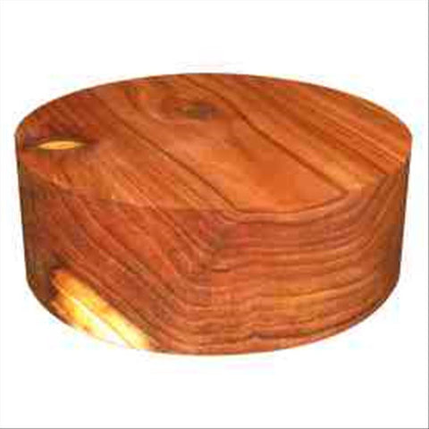 "10""x3"" Redwood Wood Bowl Turning Blank"