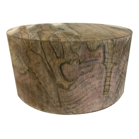 "12""x8"" Spalted Ambrosia Maple Wood Bowl Turning Blank"