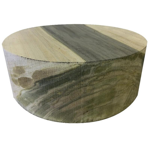 "8""x3"" Spalted Maple Wood Bowl Turning Blank"