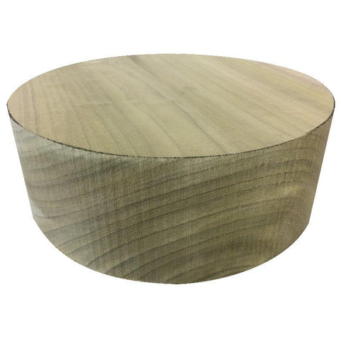 "14""x6"" Tulip Poplar Wood Bowl Turning Blank"