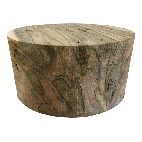 "12""x7"" Ultimate Spalted Ambrosia Maple Wood Bowl Turning Blank"