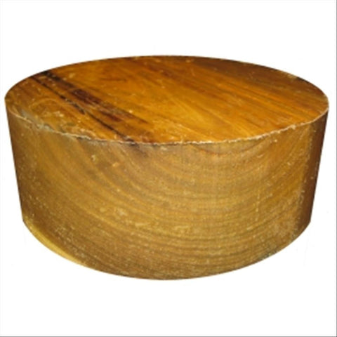 "10""x5"" Yellowwood Wood Bowl Turning Blank"
