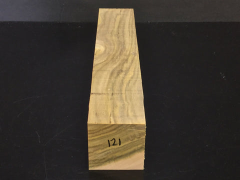 "2""x2""x12"" Chinese Pistache Wood Spindle Turning Blank (#00121)"