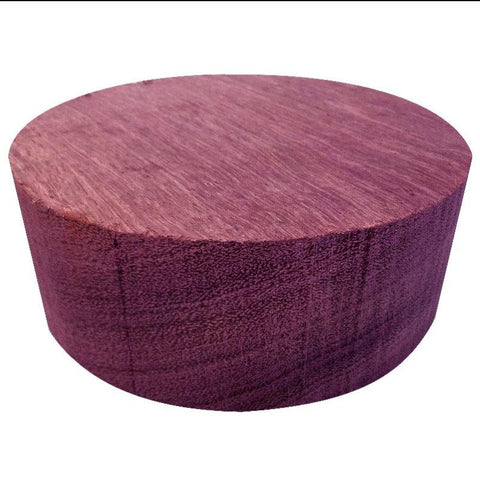 Purpleheart Wood Bowl/Platter Turning Blank