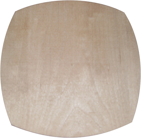 "8""x2"" Curved Square Pattern - KD Select Maple"