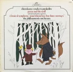 Efrem Kurtz Conducts The Philharmonia Orchestra: Peter And The Wolf / Classical Symphony /  The Philharmonia Orchestra (Vinyl)