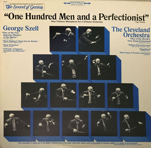 """One Hundred Men And A Perfectionist"", George Szell (Vinyl)"