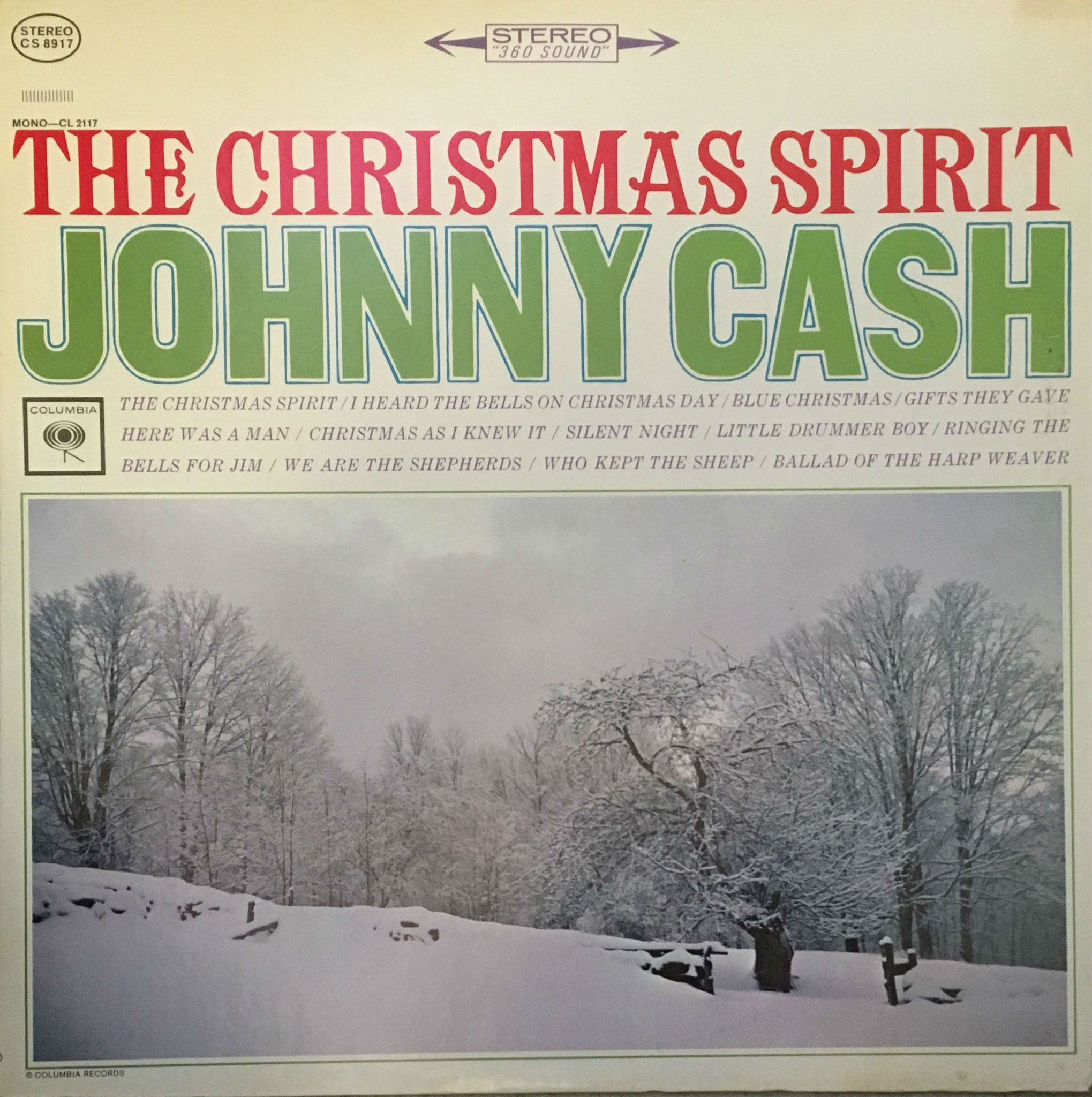 The Christmas Spirit, Johnny Cash (Vinyl) – vinylmailer