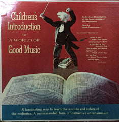 Children's Introduction To A World Of Good Music, Unknown Artist (Vinyl)
