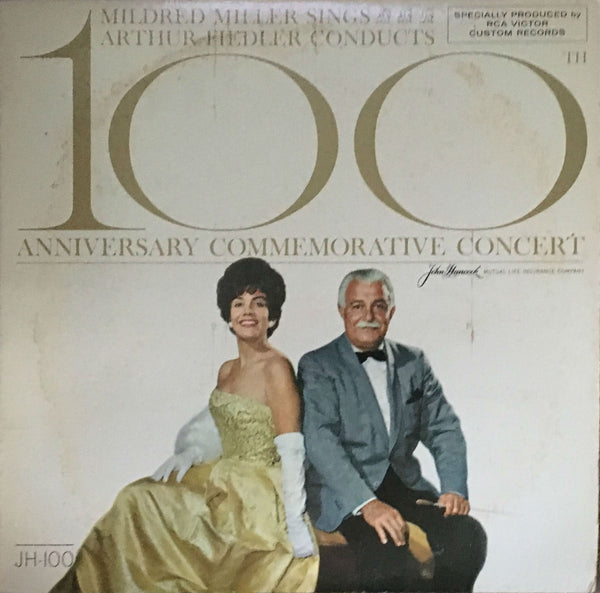 100th Anniversary Commemorative Concert, Mildred Miller / Arthur Fiedler (Vinyl)