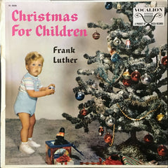 Christmas For Children, Frank Luther (Vinyl)
