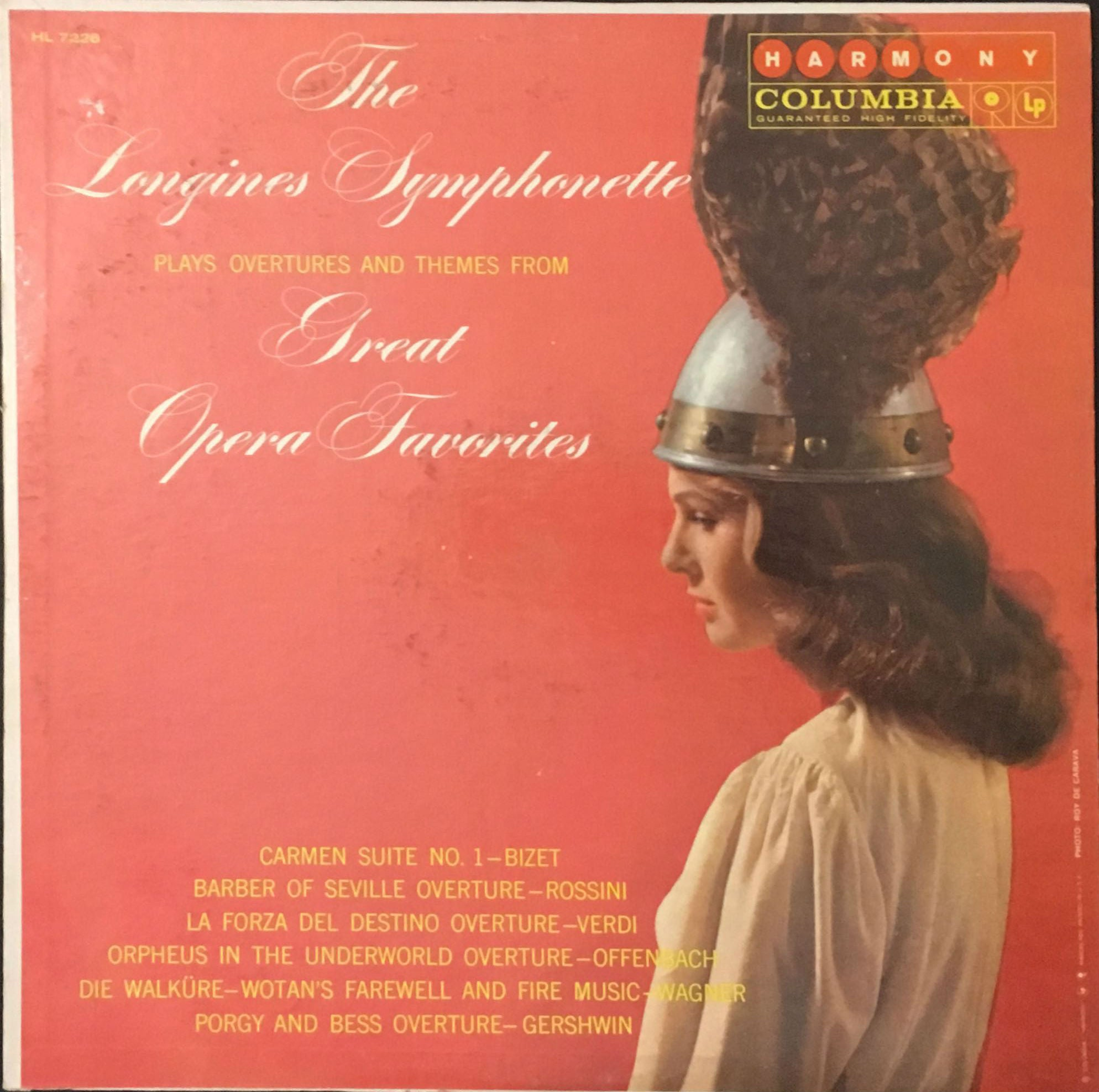 The Longines Symphonette Plays Overtures And Themes From