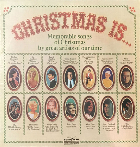 Christmas Is... (Memorable Songs Of Christmas By Great Artists Of Our Time), Various (Vinyl)