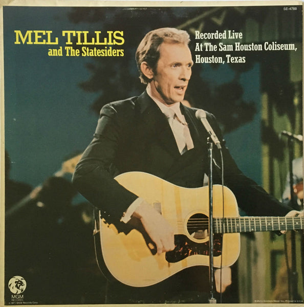 Mel Tillis And The Statesiders Recorded Live At The Sam Houston Coliseum, Houston, Texas, Mel Tillis And The Statesiders (Vinyl)