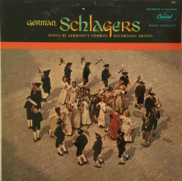 German Schlagers (Songs By Germany's Favorite Recording Artists), Various (Vinyl)