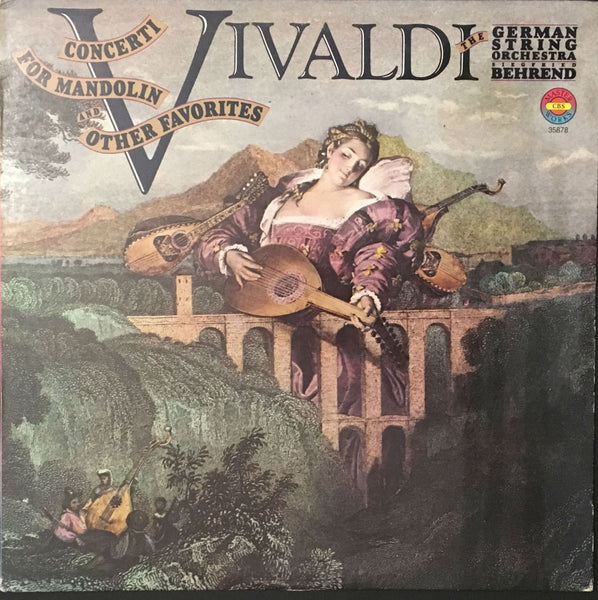 Vivaldi: Concerti For Mandolin And Other Favorites, Siegfried Behrend (Vinyl)