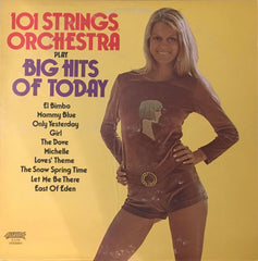 101 Strings Orchestra Play Big Hits Of Today, 101 Strings Orchestra (Vinyl)