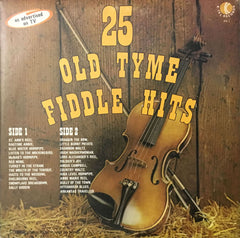 25 Old Tyme Fiddle Hits, Various (Vinyl)