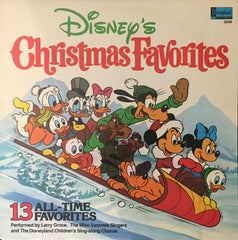 Disney's Christmas Favorites, Larry Groce / The Mike Sammes Singers / The Disneyland Children's Sing-along Chorus (Vinyl)