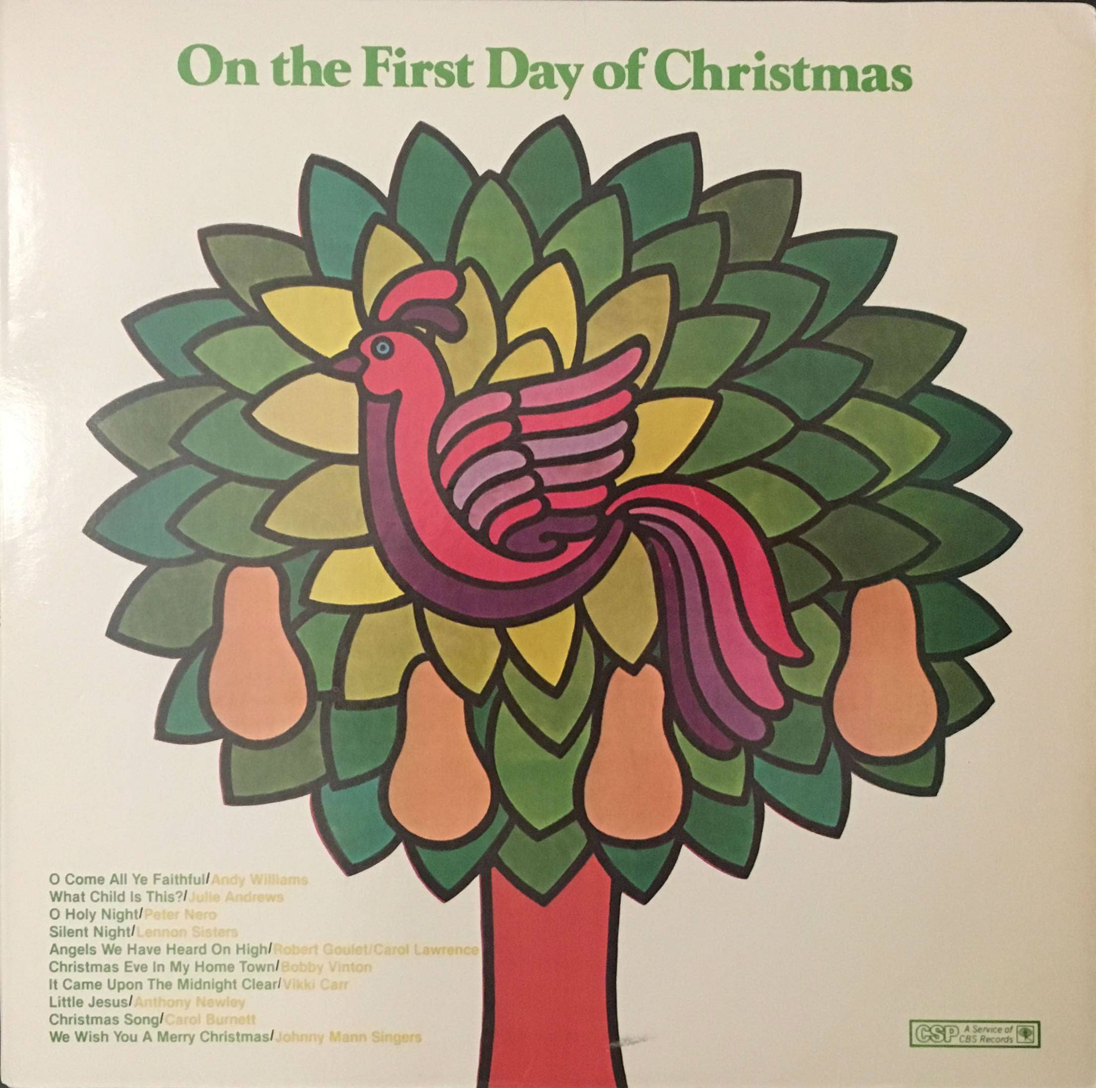 on the first day of christmas various vinyl - When Is The First Day Of Christmas
